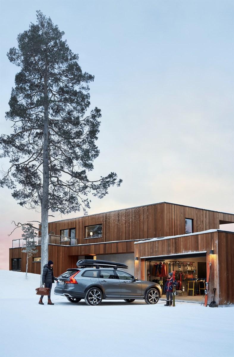 Новый Volvo V90 Cross Country Уют
